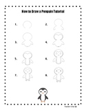 How to Draw a Penguin Tutorial