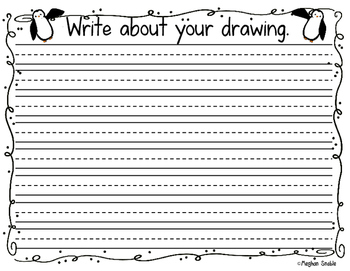 How to Draw a Penguin- Writing Center