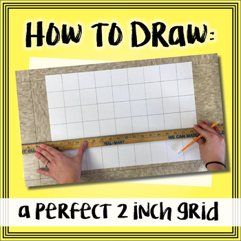 Video - How to Draw a Perfect 2 Inch Grid