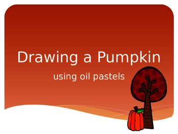 How to Draw a Pumpkin Video