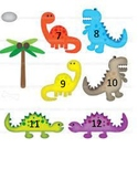 Dinosaur Number Cards