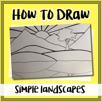 How to Draw a Simple Landscape