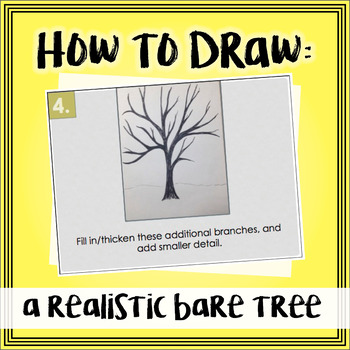 How to Draw a Realistic Bare Tree