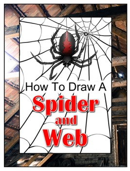 How to Draw a Spider and Web