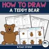 How to Draw a Teddy Bear: Directed Drawing Activity