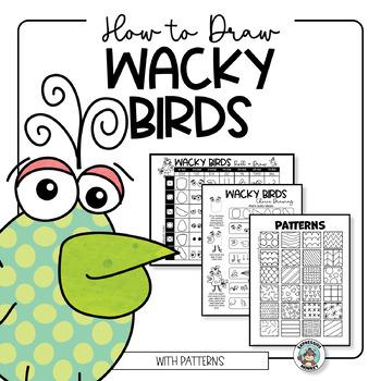 How to Draw a Wacky Bird
