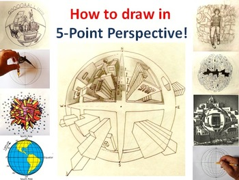 How to Draw in 5-Point Perspective!