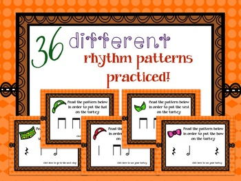 """How to Dress a Turkey, a """"choose your path"""" rhythm game for half note"""