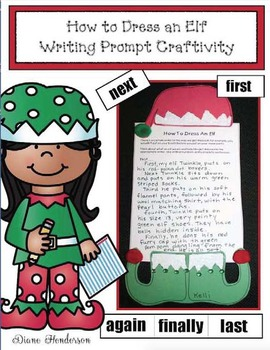 How to Dress an Elf: Writing Prompt Craftivity