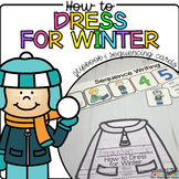 How to Dress for Winter {Flipbook & Sequencing Cards}