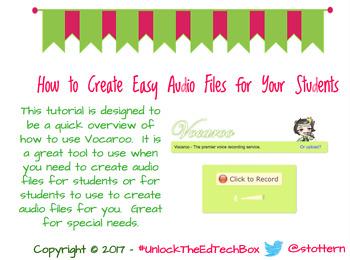 How to Easily Create Audio Files Using Vacaroo