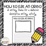 How to Eat An Oreo Writing Frame