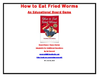 How to Eat Fried Worms Board Game