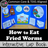 How to Eat Fried Worms Interactive Novel Study (Notebook or Lap Book)