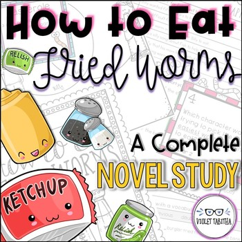 How to Eat Fried Worms Novel Study Unit