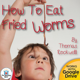 How to Eat Fried Worms Novel Study Book Unit