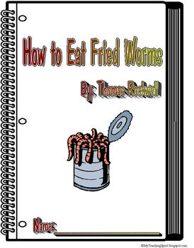 How to Eat Fried Worms Reading Response Literature Circle Packet