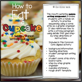 How to Eat a Cupcake: Opinion Writing Experience