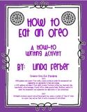 How to Eat an Oreo Writing