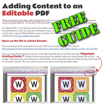 How to Edit and Fill in an Editable PDF - Free with Sample - ZisforZebra