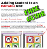 How to Edit and Fill in an Editable PDF - Free with Sample