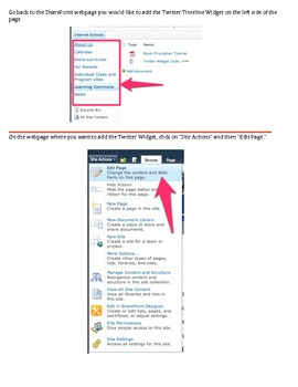 How to Embed a Twitter Timeline Widget into your SharePoint 2010 Website