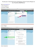 How to Embed a Twitter Timeline Widget into your SharePoin