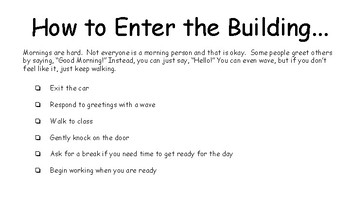 How to Enter the Building (from Car Rider Loop)
