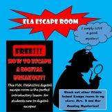 How to Escape a Digital Breakout: Middle School Digital Escape Room