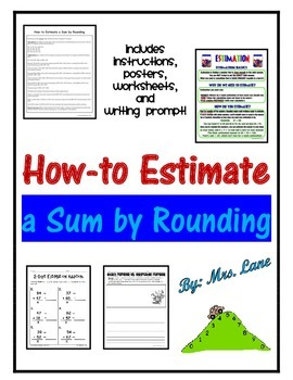 How-to Estimate a Sum By Rounding Lesson