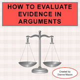 How to Evaluate Evidence for an Argumentative Essay