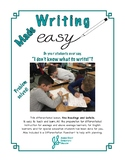Easy Writing Lesson: Explain a Topic Using Headings and De