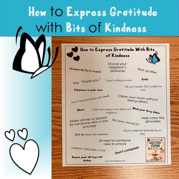 How to Express Gratitude with Bits of Kindness