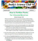 How to Fertilize Plants in Your Classroom