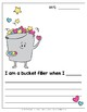How to Fill a Bucket {Class Book & Writing Prompts}
