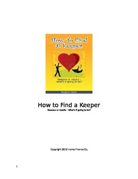 How to Find A Keeper