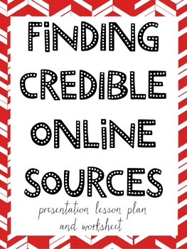 How to Find Credible Online Sources for Research & Information