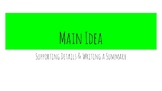 How to Find Main Idea & Supporting Details, How to Write a Summary