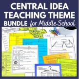 Central Idea Main Idea Central Message and Theme PRINTABLE BUNDLE
