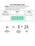 How to Find an Unknown Factor Multiplication
