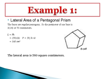 How to Find the Surface Area of a Prism
