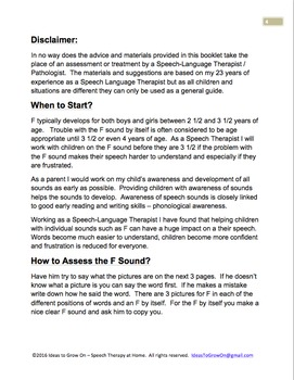 How to Teach / Correct F Sounds at Home.  Speech Therapy Guide for Parents.
