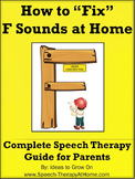 F Sounds - Home Speech Therapy Program