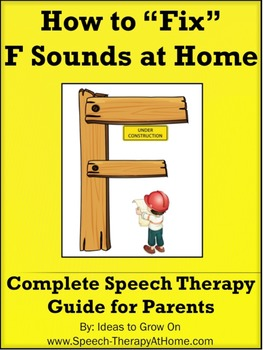 How to Teach / Correct F Sounds at Home.  Speech Therapy G