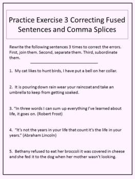 How to Fix Run-on Sentences and Comma Splices