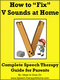 V Sounds - The Ultimate Home Therapy Program.