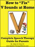 V Sounds - Home Speech Therapy Program