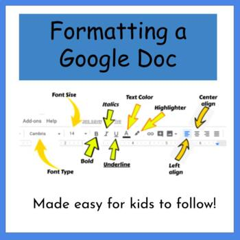 How to Format a Document