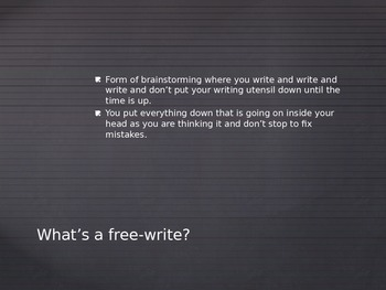 How to Free-Write PowerPoint (Includes Explanation and Practice)