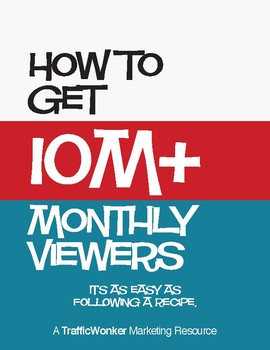 How to Get 10M+ Monthly Pinterest Viewers (Free Book)